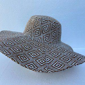 Accessories - Sun Beach Hat Floppy Rhombus 100% paper